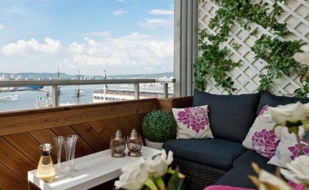 stylish balcony designs