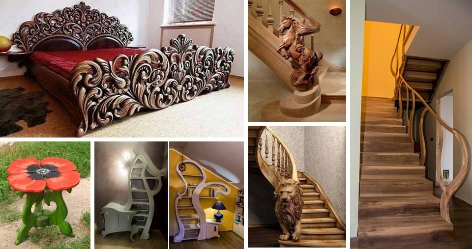 modern handmade wood design ideas