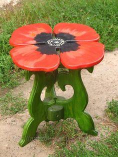 modern green handmade table