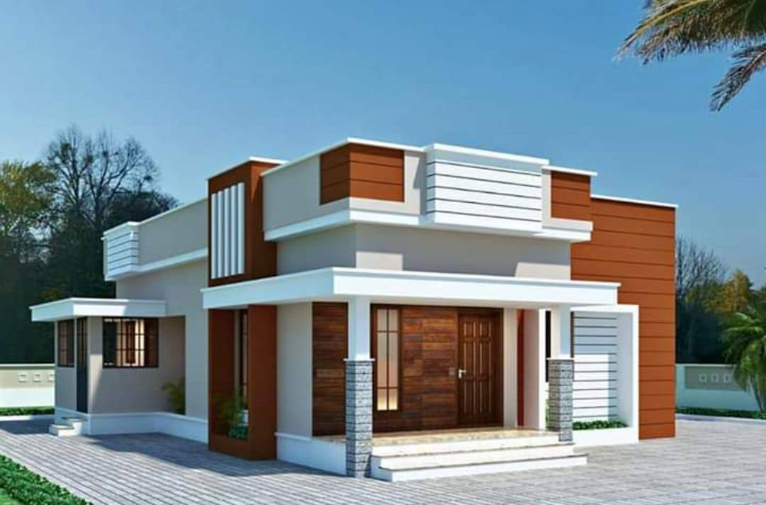 1000 square feet home plan below 20 lakhs