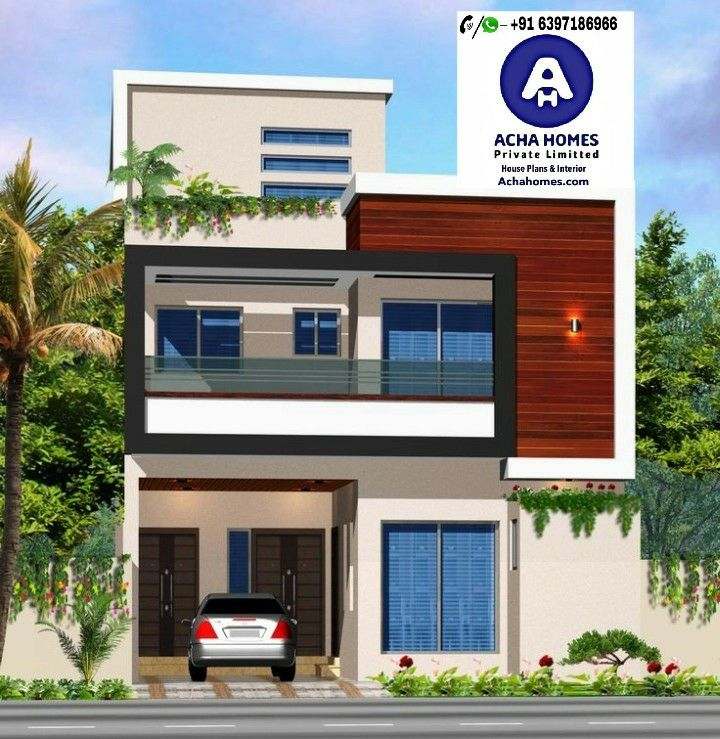 Home Design Ideas Elevation: House Design For 15 Feet By 25 Feet Plot