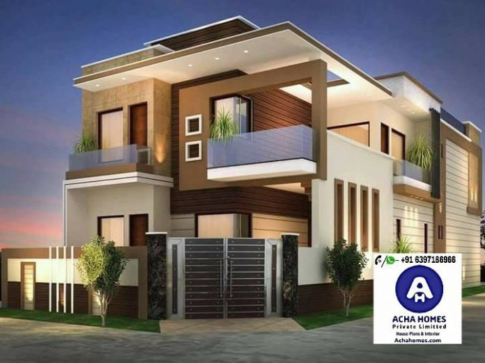 2000 Square Feet 4BHK Double Floor Contemporary Home ...
