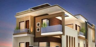 2000 Square Feet 4BHK Double Floor Contemporary Home Design · ASHRAF  PALLIPUZHA · 4 Bedroom House Plans