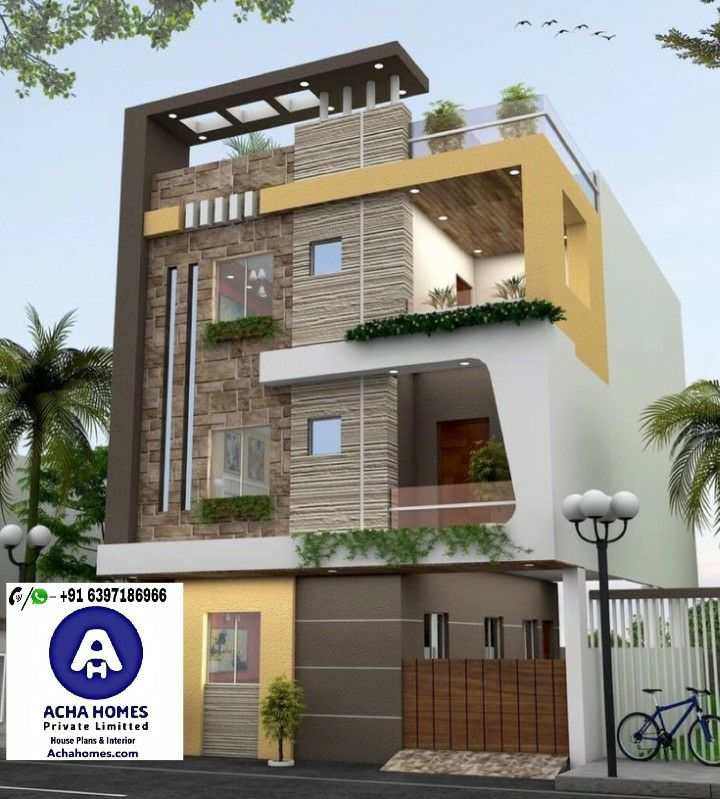 25 Feet By 25 Feet Modern House Plan Below 30 LAKHS