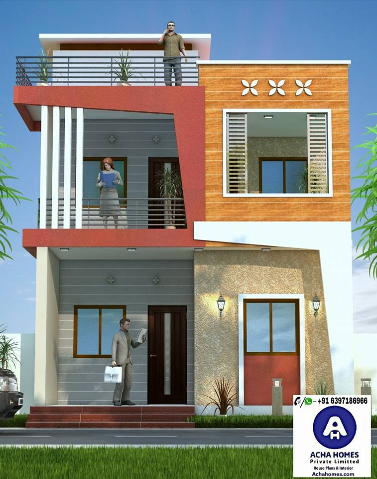 1600 square feet stylish modern home design with 3 bedrooms