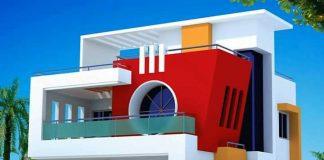 Modern House Design For 22 Feet By 42 Feet.