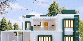 Stunning 3Bhk Modern House Plan at just 15 lakhs'