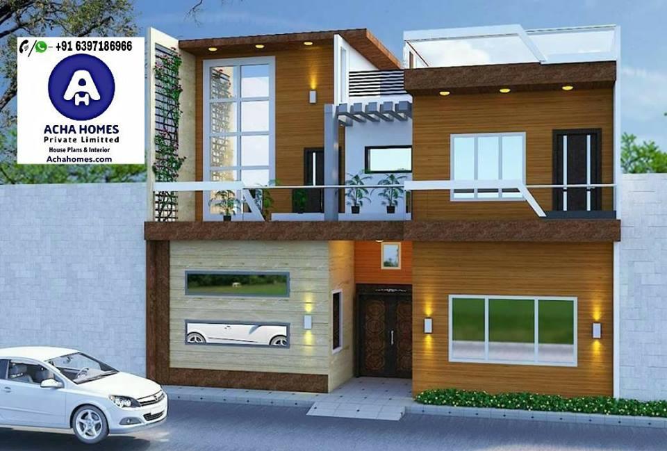 800 Sq. feet 2 BHK stylish House Design
