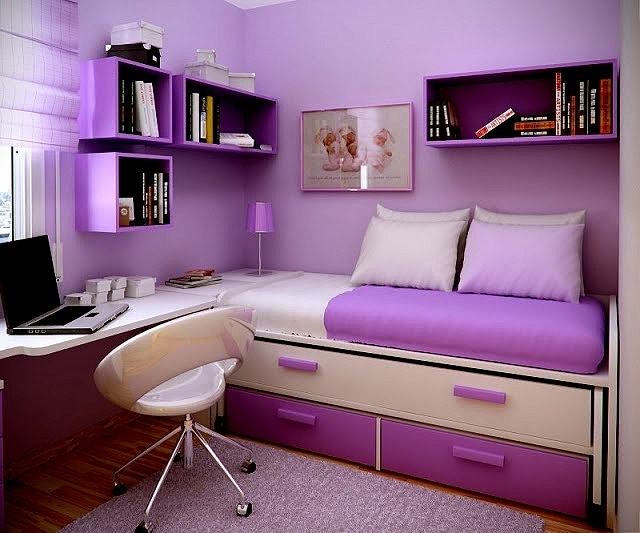 study room Modern Apartment Interior Decorating Ideas