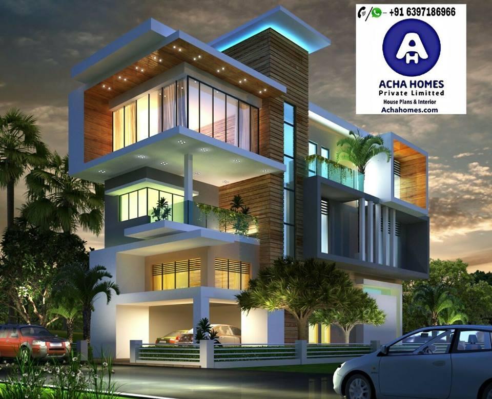 Triplex Modern Home Design ideas