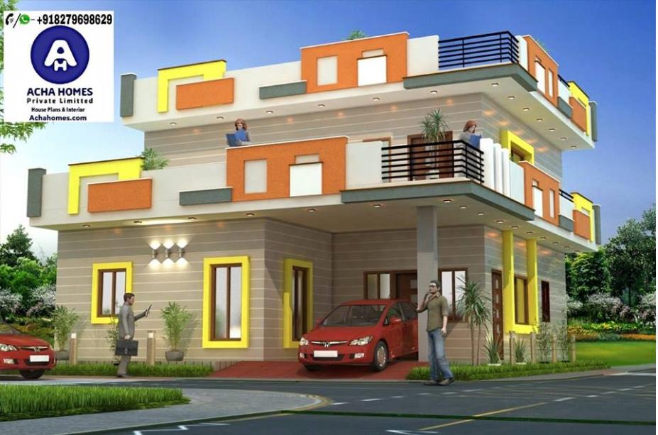 2000 sqft modern home design