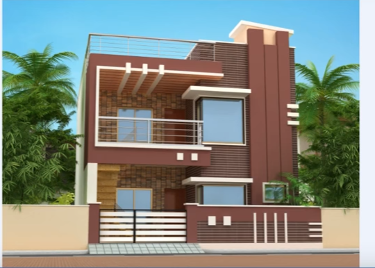 3BHK Modern home design