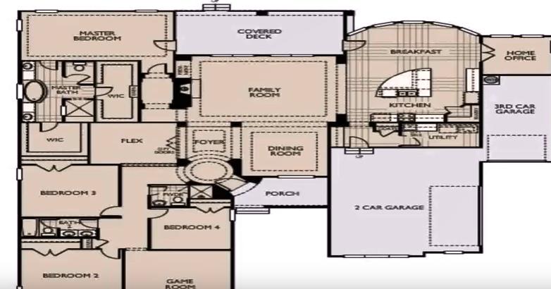 3500 sqft stylish home plan