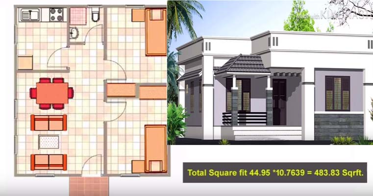 List Of Home Plan Below 5 Lakhs With 2 Bedrooms Acha Homes