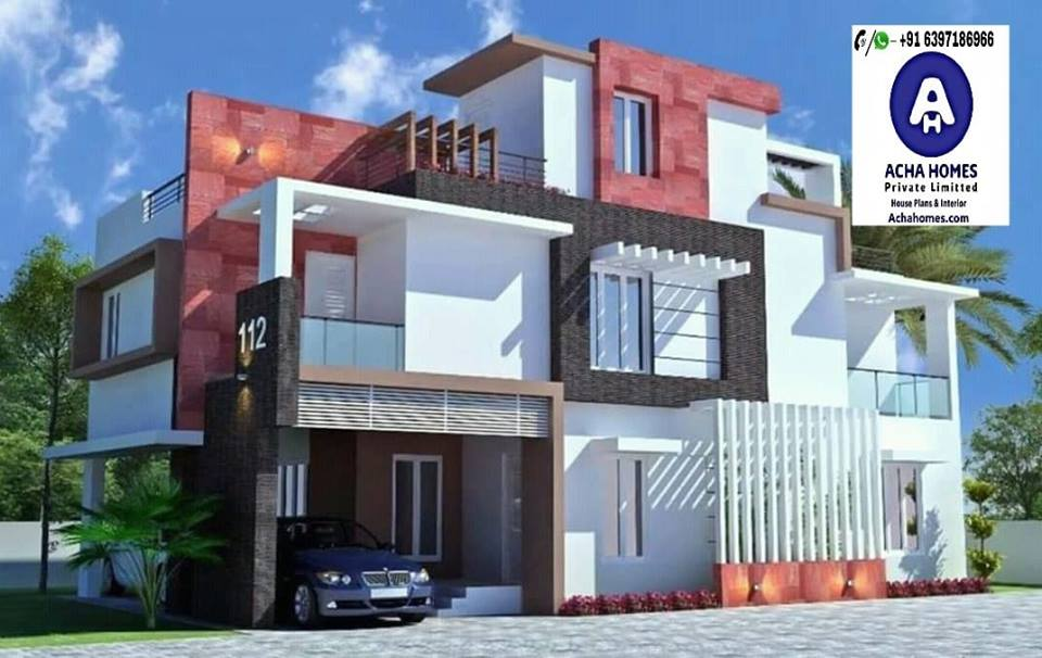 amazing home design with 4bedrooms