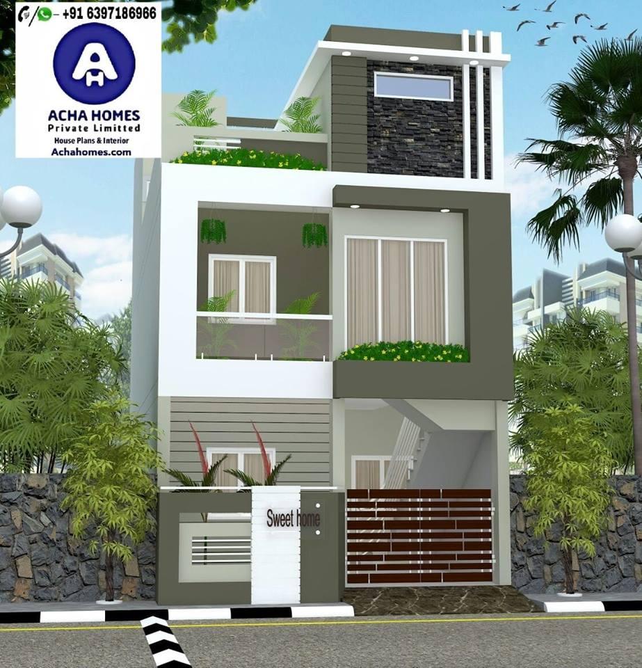 duplex home design with 4bedrooms