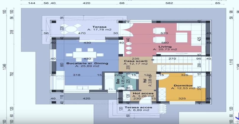 stylish blueprints of home design