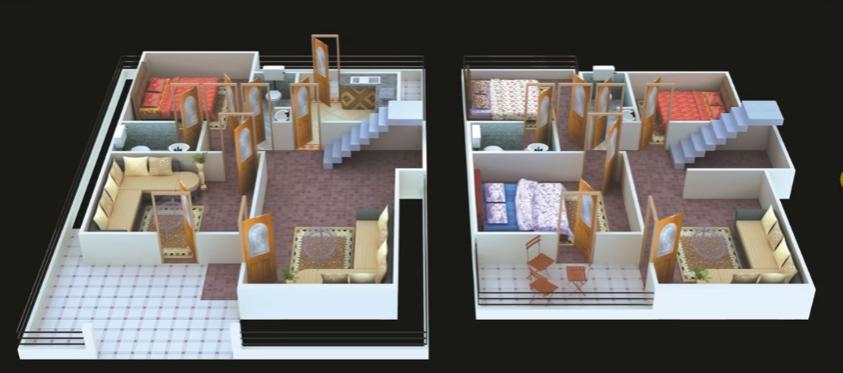 30 feet by 40 modern home plan
