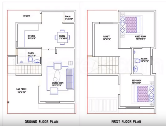Big Makeover Get a Stunning House plan at Just 15 Lakhs