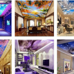 Innovative Ceiling Mural Home Design Ideas