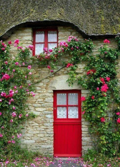 Traditional Decorating tips for home design input with flowers and shrubs