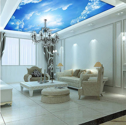 amazing Ceiling Mural Home Design Ideas