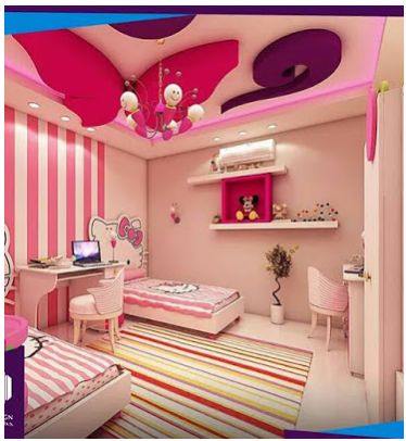 big room Ideas For Girl's Bedroom Design