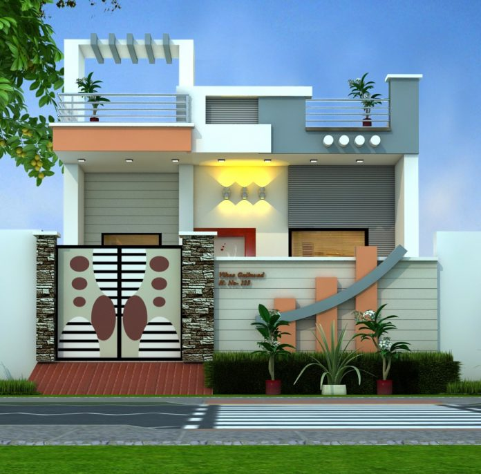 Home Design Ideas In Low Cost: 2 Bedroom Low Cost Modern Home Designs