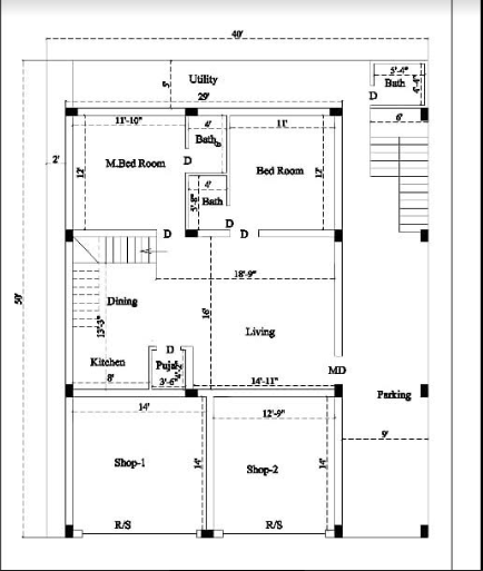 HOW TO MAKE HOUSE PLAN MEASUREMENT