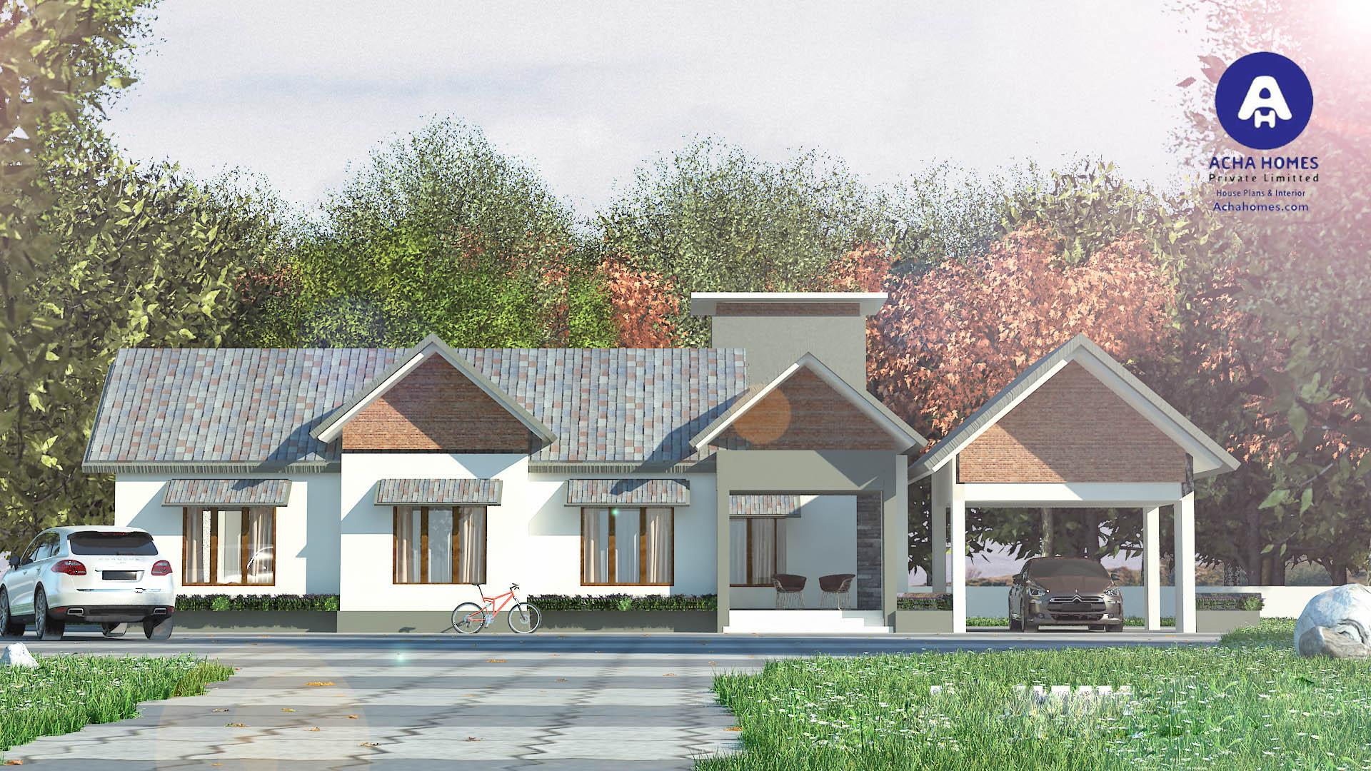 1900 square feet home design