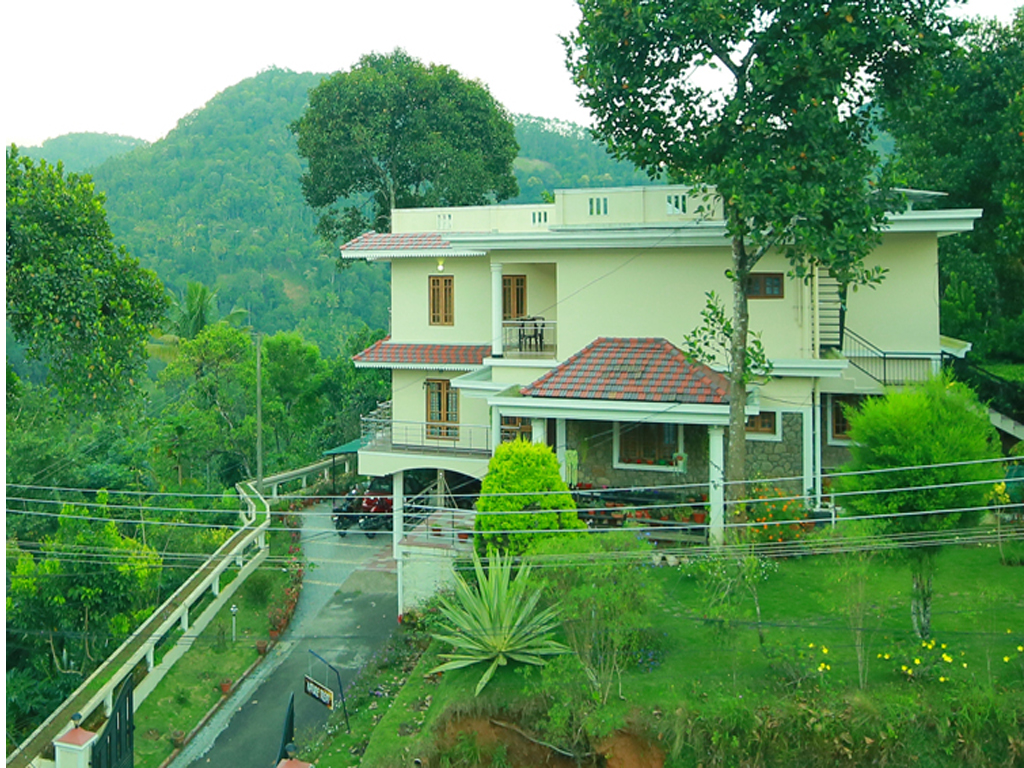 stylish home in munnar