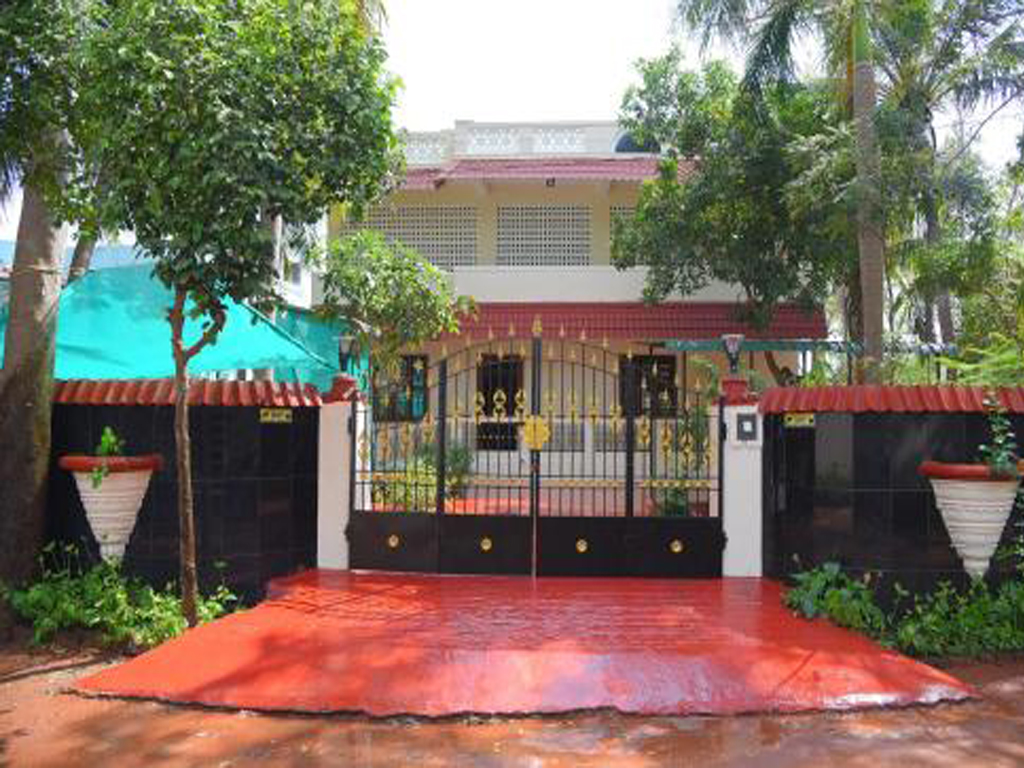 stylish home in puducherry