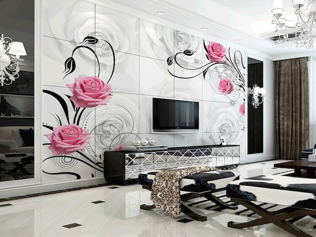 FLOWER WALLPAPER DESIGN IDEAS