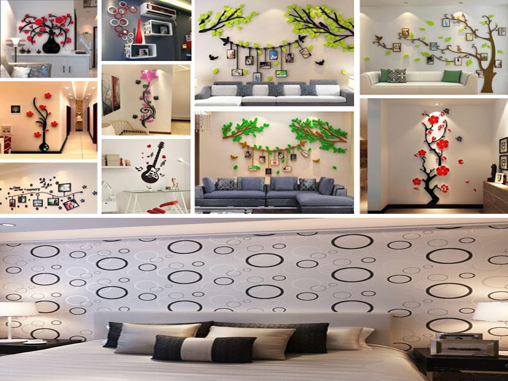 How To Make Your Living Room Big With Wallpaper Acha Homes