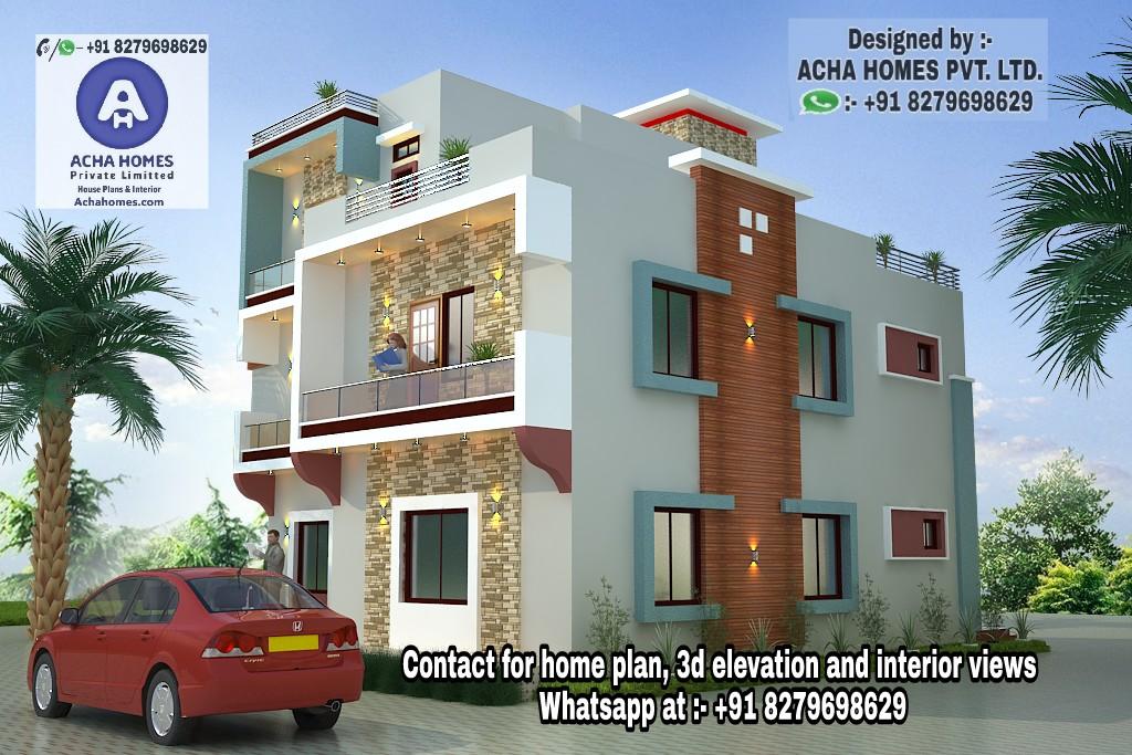 Indian Home Design - Free House / Floor Plans, 3D Design Ideas, Kerala