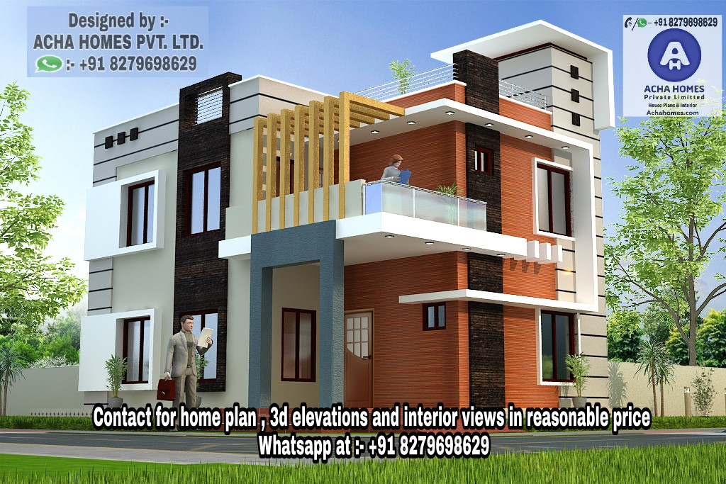 Indian Home Design - Free House / Floor Plans, 3D Design Ideas, Kerala