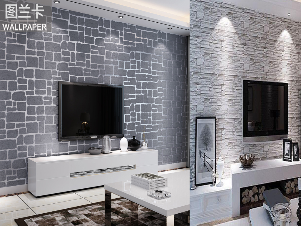 TV AREA WALLPAPER DESIGN IDEAS