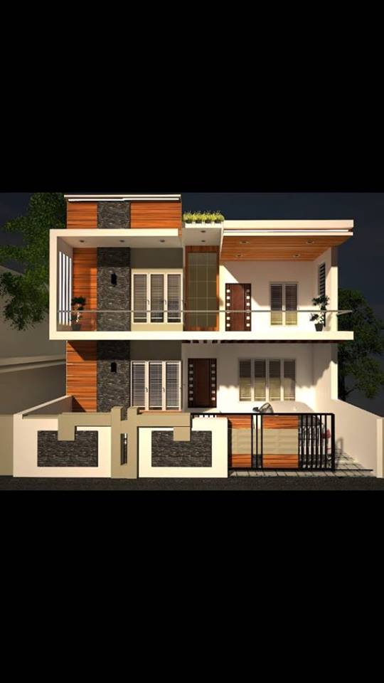 Best 3 bhk home design for 30 feet by 40 plot