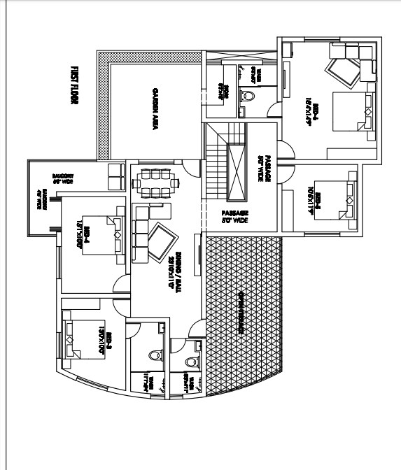 first floor plan 3000 square feet