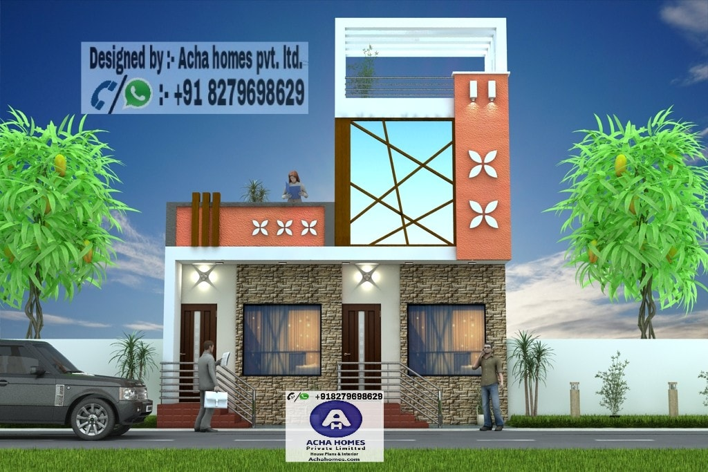 2 bhk ground floor house design