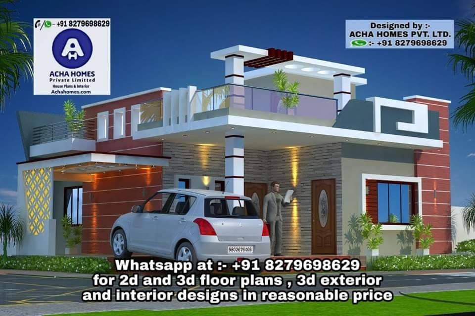 one storey house for small family