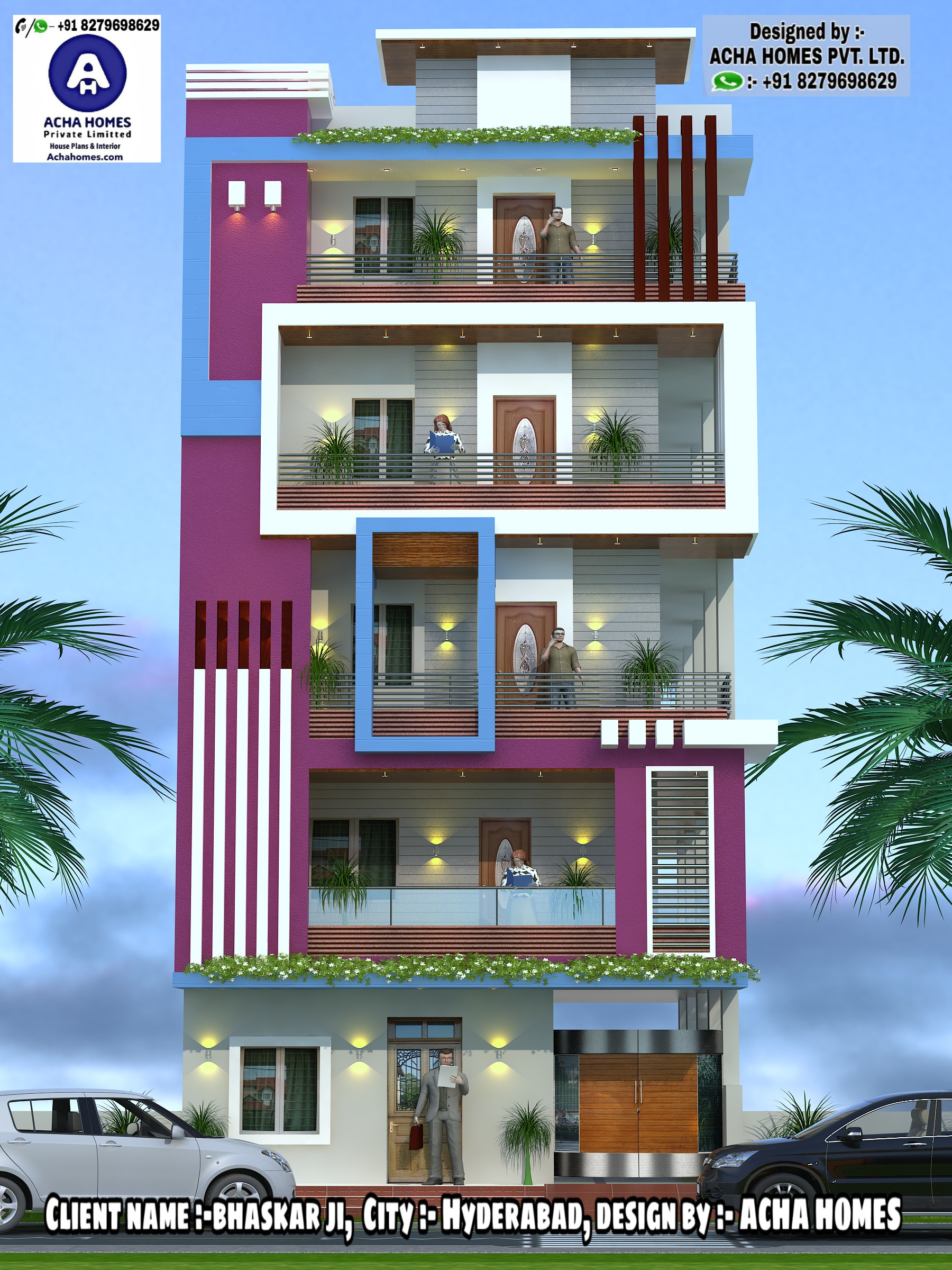 Top 12 Indian 3D Front Elevation Home Design Everyone Will Like