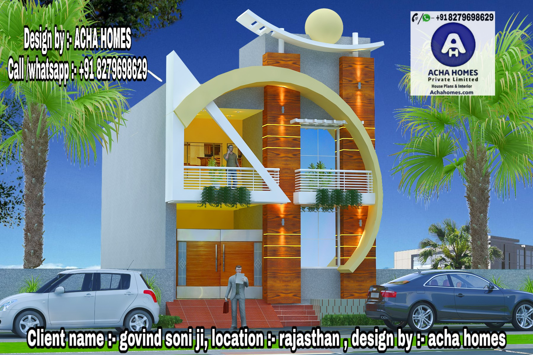 AMAZING 2 BHK HOME DESIGN