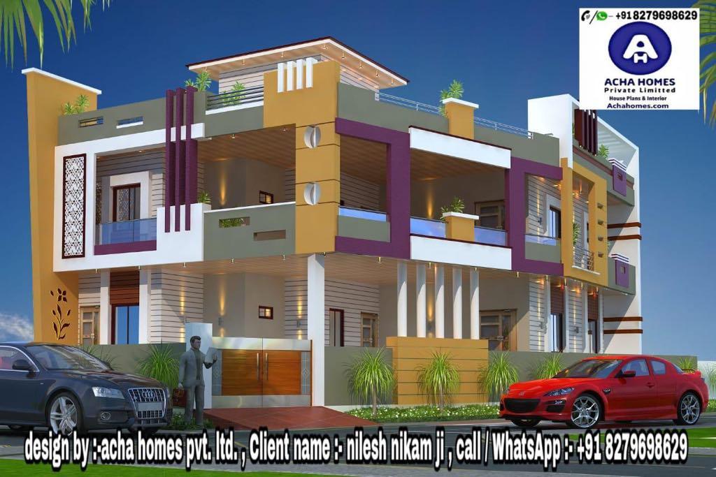 4 bhk house plan