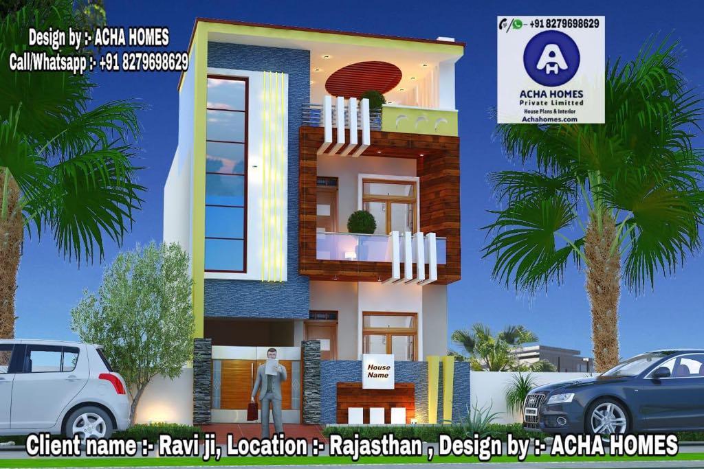 4 room house plan