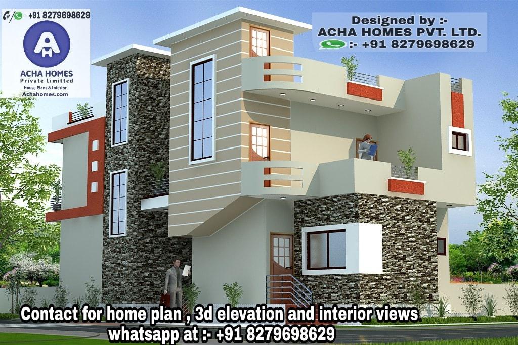 3 bedroom duplex house plans