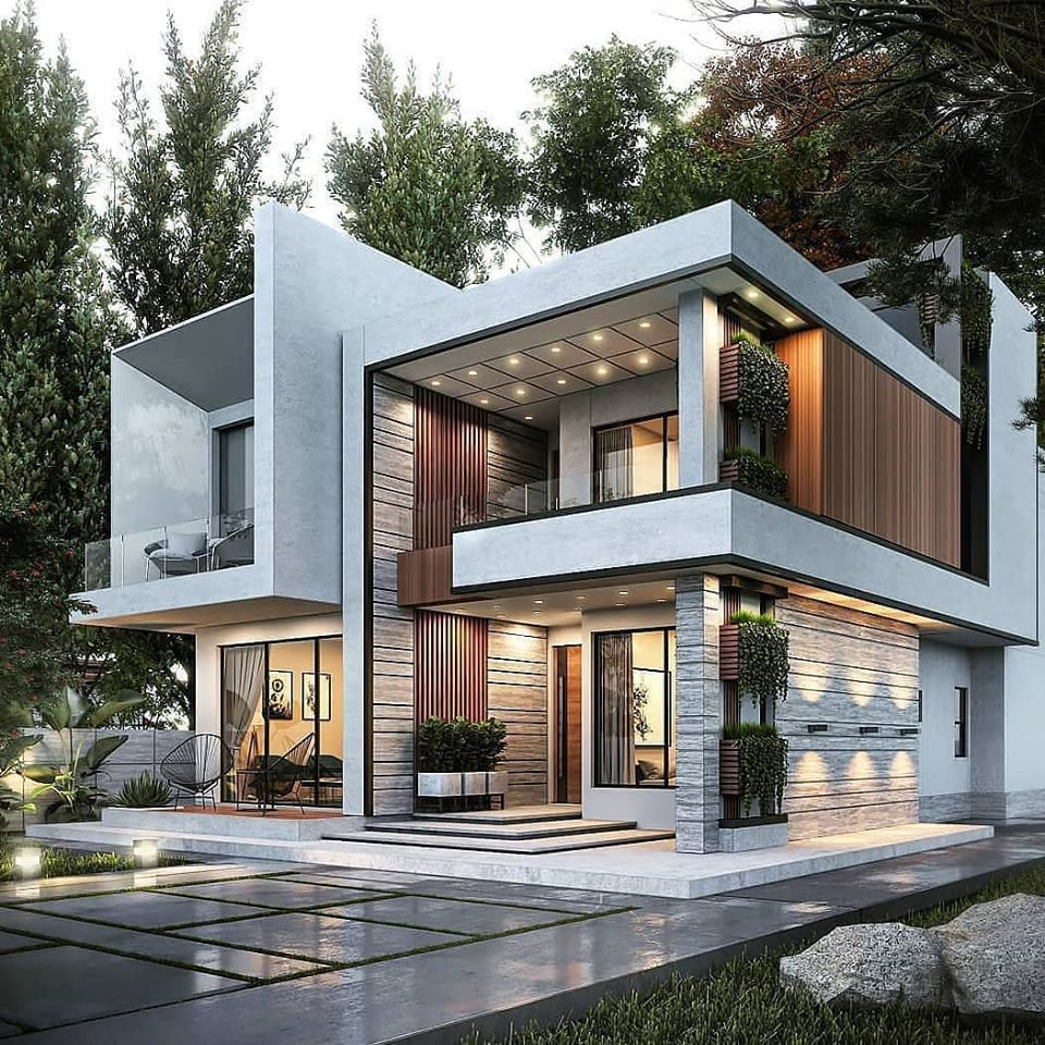 Contemporary style elevation ideas