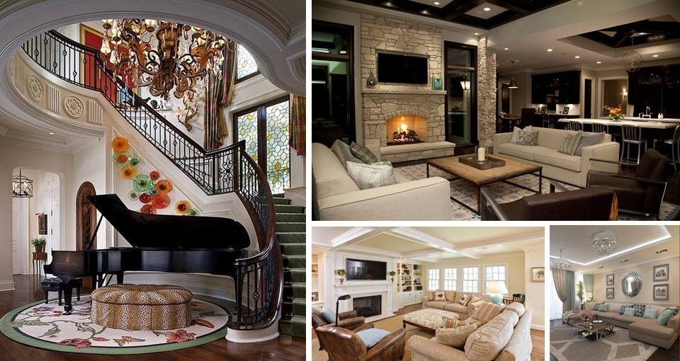 MODERN LIVING ROOM DESIGNS IDEAS