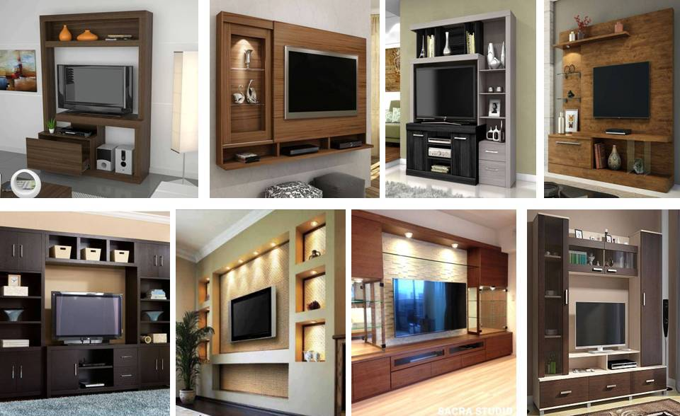 MODERN TV WALL STAND IDEAS