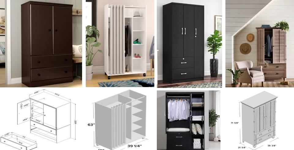 modern Guide to Standard Small Bedroom wardobe design ideas